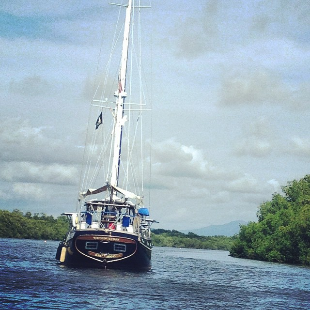 Cruising@puertobarillas..a perfect base #sailboats #visitelsalvador #peaceful #perfection #friendly #marina #travel #safe