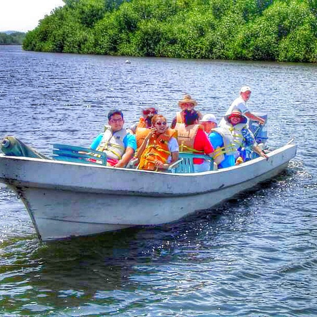 ...escape the stresses of your hectic routine into a more natural mode, with a boat tour ride @puertobarillas #breathtaking #visitelsalvador #photoshoot #nature #topoftheworld #travel #instagood #bay #boat
