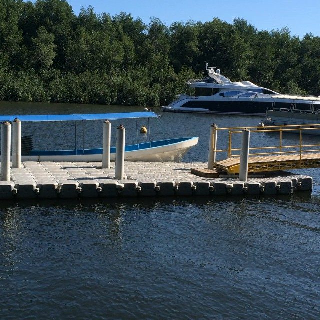 Puerto Barillas Marina & Lodge. Floating deck  www.puertobarillas.com #elsalvador #marina #boat #relax #tours #travel #canal #instagood