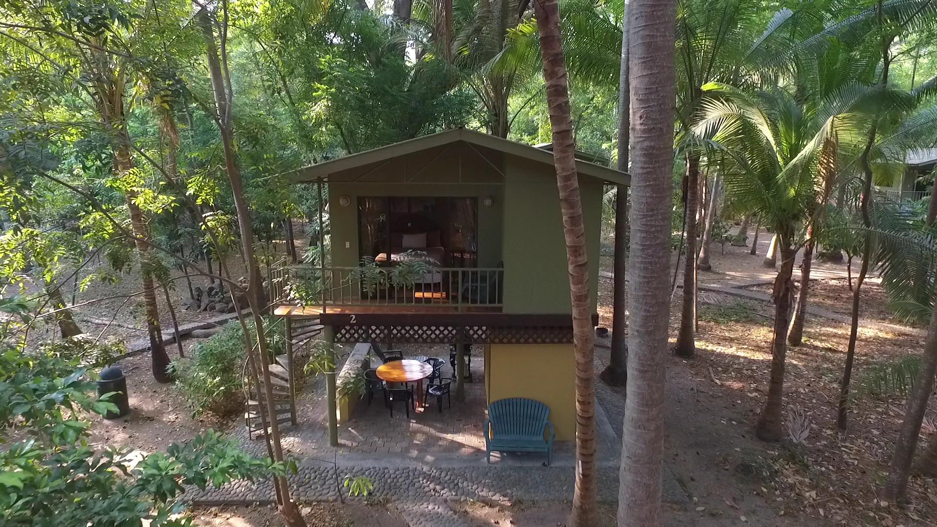 Casa de arbol en Puerto Barillas